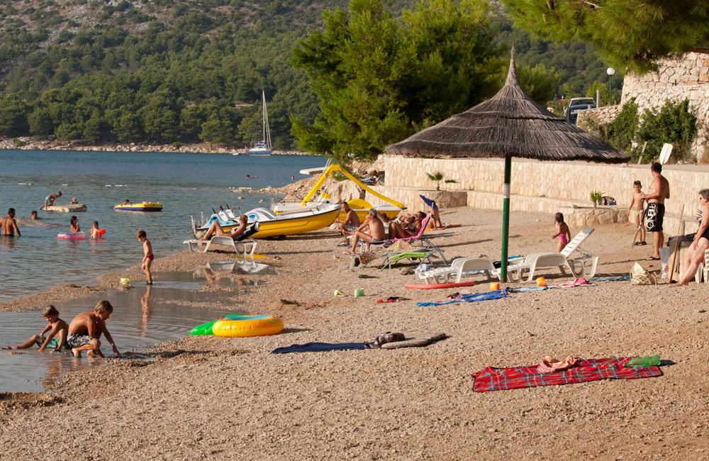Kampiranje na moru, kamp OAZA MIRA